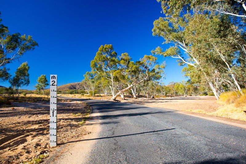 Cama de angra seca de Austrália imagens de stock royalty free