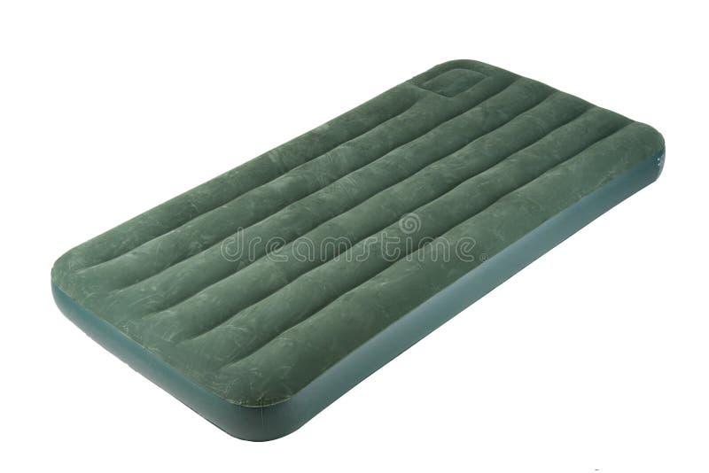 Cama de ar ou cama de acampamento do ar foto de stock royalty free