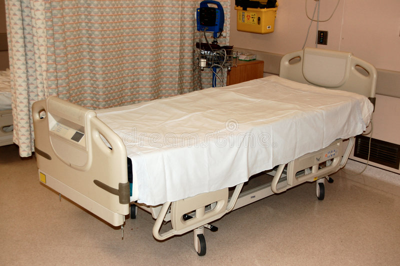 Cama de hospital foto de stock royalty free