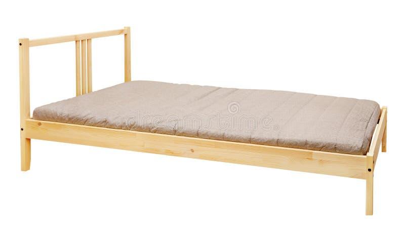 Cama de madeira foto de stock royalty free
