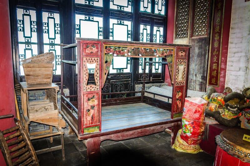 A cama marital fotografia de stock royalty free