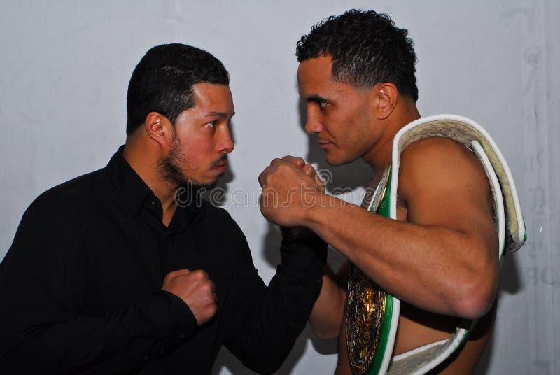 Camacho, JR v. Ayala el 30 de marzo de 2012, Mgm Grand, CT fotos de archivo