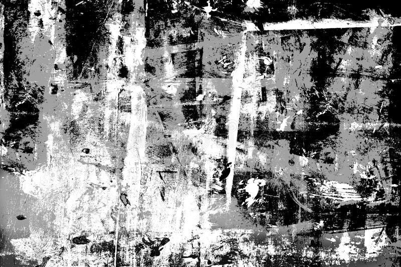 Camada altamente detalhada de Grunge ilustração royalty free