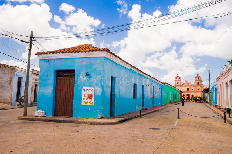 Camaguey, Cuba - old town listed on UNESCO World. Camaguey, Cuba, old town listed on UNESCO World Heritage royalty free stock image