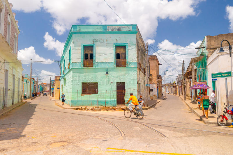 Camaguey, Cuba - old town listed on UNESCO World. Camaguey, Cuba, old town listed on UNESCO World Heritage royalty free stock images