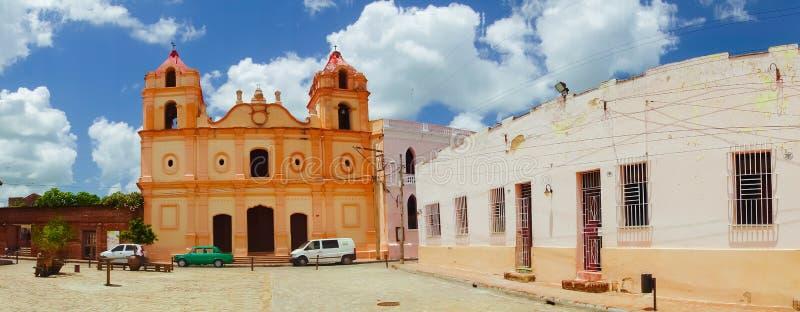 Camaguey, Cuba - old town listed on UNESCO World. Camaguey, Cuba, old town listed on UNESCO World Heritage stock photos