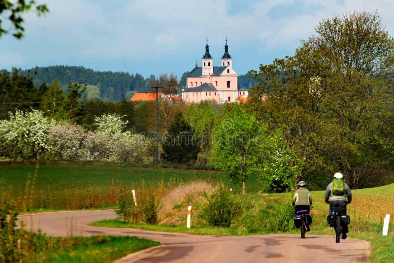 Camaldolese Wigry monastery in Suwalki region, Poland stock photos