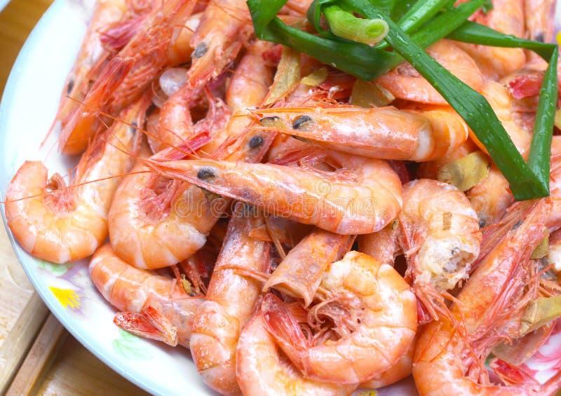 Camarão chinês da culinária imagem de stock royalty free