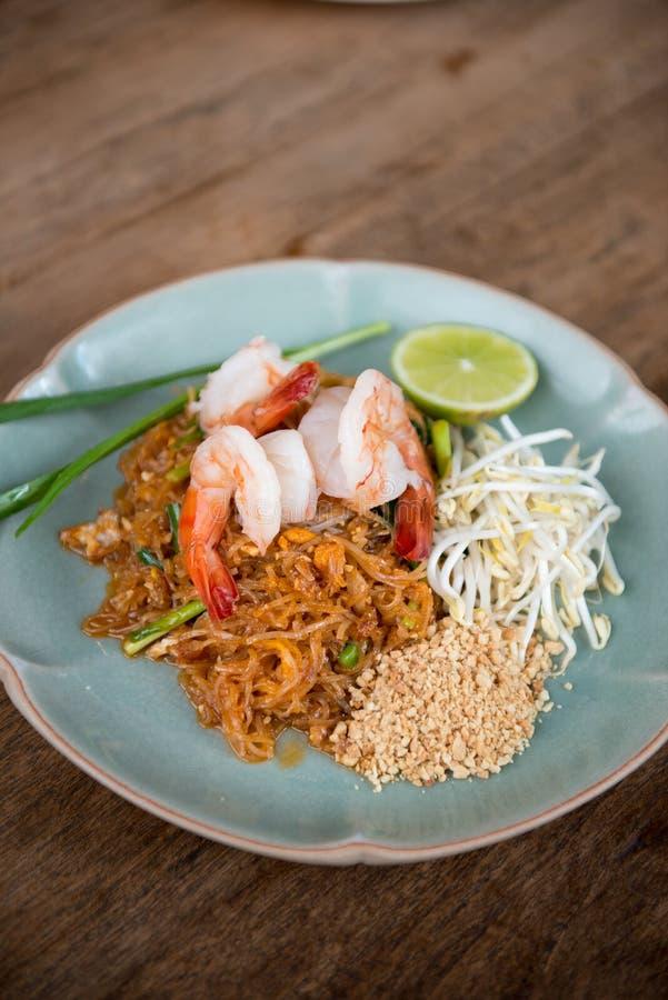 Camarão tailandês da almofada foto de stock royalty free