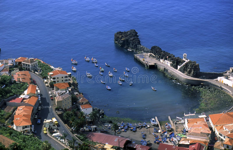 Download Camara de Lobos stock image. Image of coast, island, spectacular - 11855275