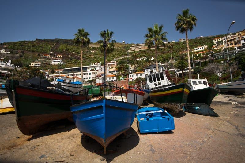 camara De Lobos Funchal madeira fotografia stock