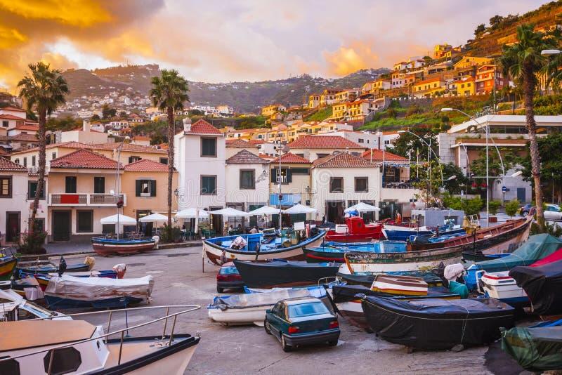 Camara de Lobos, ilha de Madeira, Portugal foto de stock royalty free
