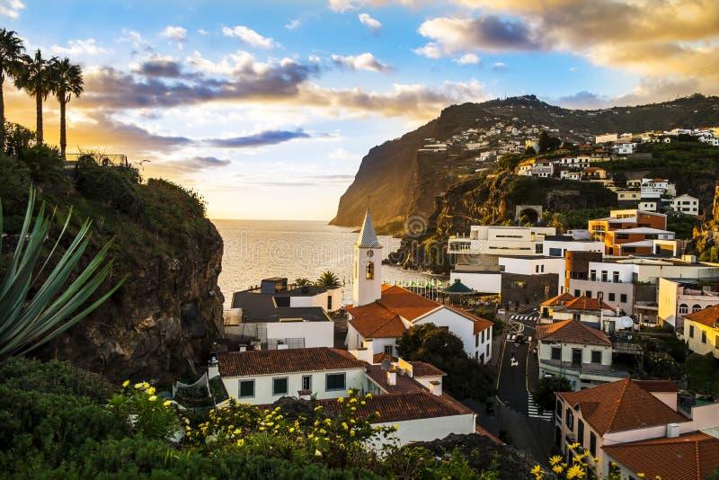 Camara de Lobos, Madeira Island royalty free stock photos