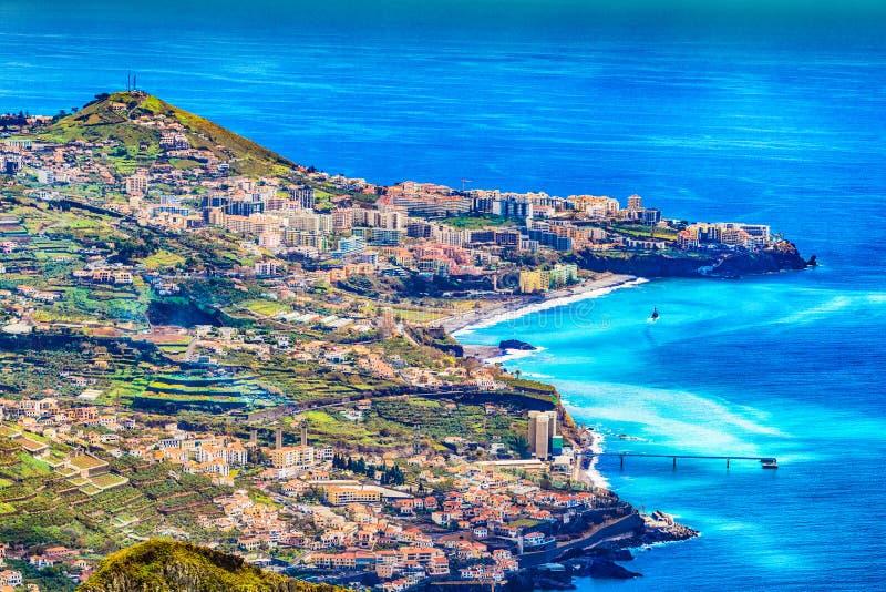 camara De Lobos Madeira obraz royalty free