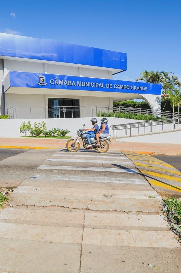 Camara Miejski De Campo Grande zdjęcia royalty free