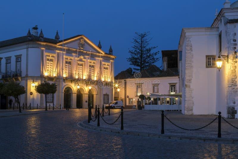 Camara Municipal av Faro - Faro - Portugal royaltyfria bilder