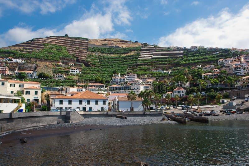 Camara TARGET364_1_ port De Lobos, Madera, Portugalia fotografia stock