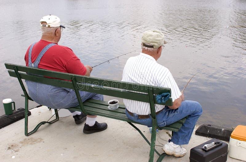 Download Camaradas 1 da pesca foto de stock. Imagem de bait, pescadores - 111164