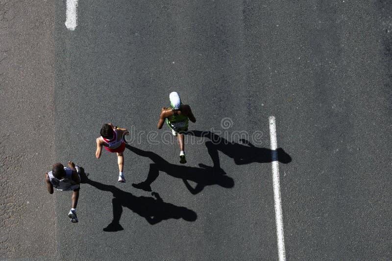 Camaradas Maratona 2010 foto de stock