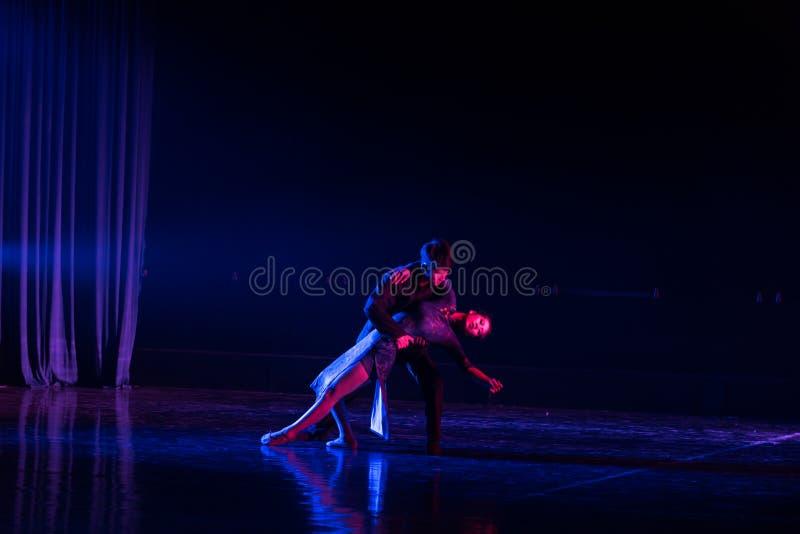 Camarade d'amour--Âne de drame de danse obtenir l'eau photos stock