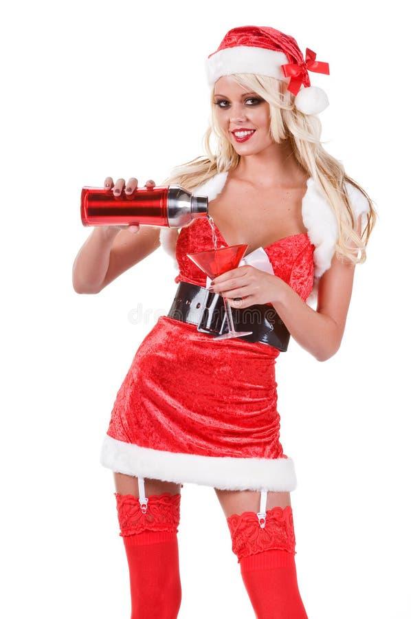 Camarero de la Navidad imágenes de archivo libres de regalías