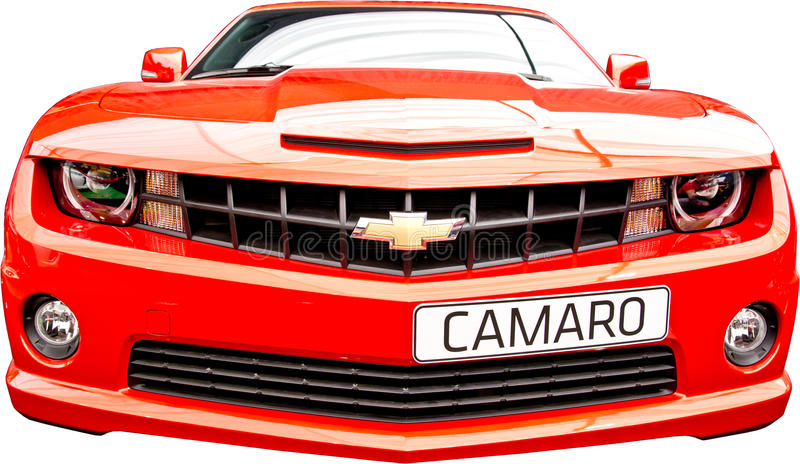camaro薛佛列汽车 免版税库存照片