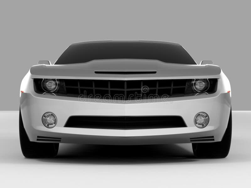 camaro 2009 chevroleta koncepcji royalty ilustracja