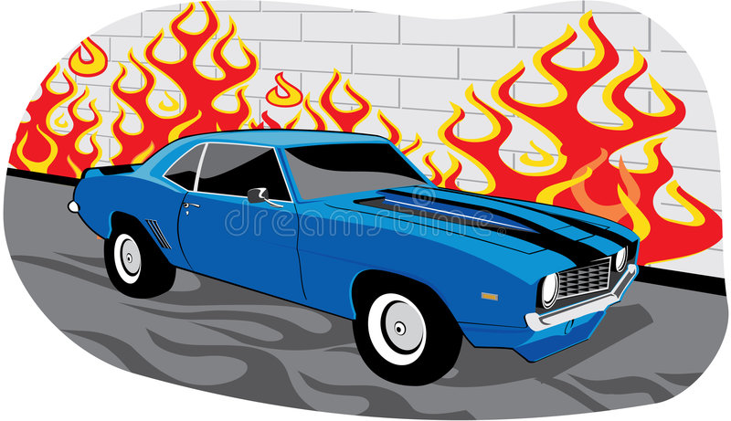 Camaro stock illustration