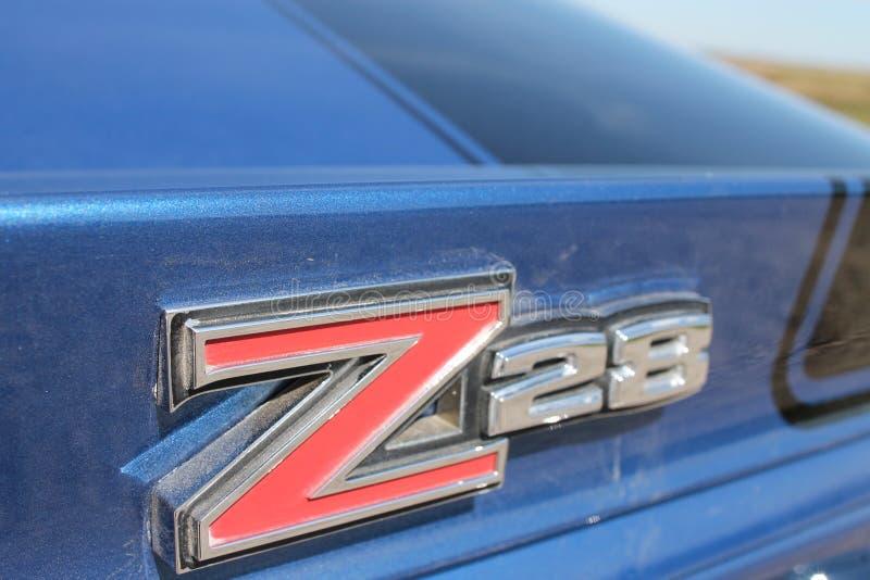 Camaro z28 images libres de droits