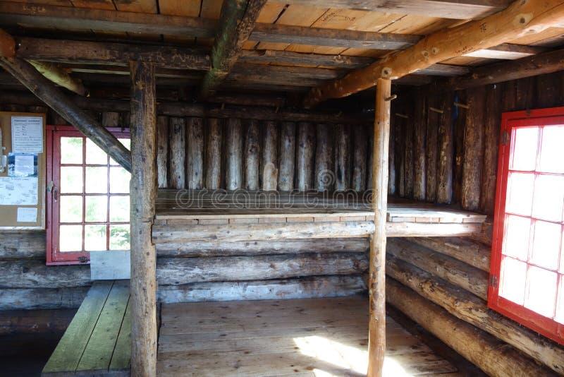 Camas de Butler Lodge Shelter Bunk fotos de stock