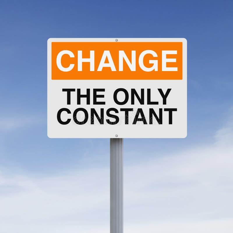 Cambiamento costante immagine stock