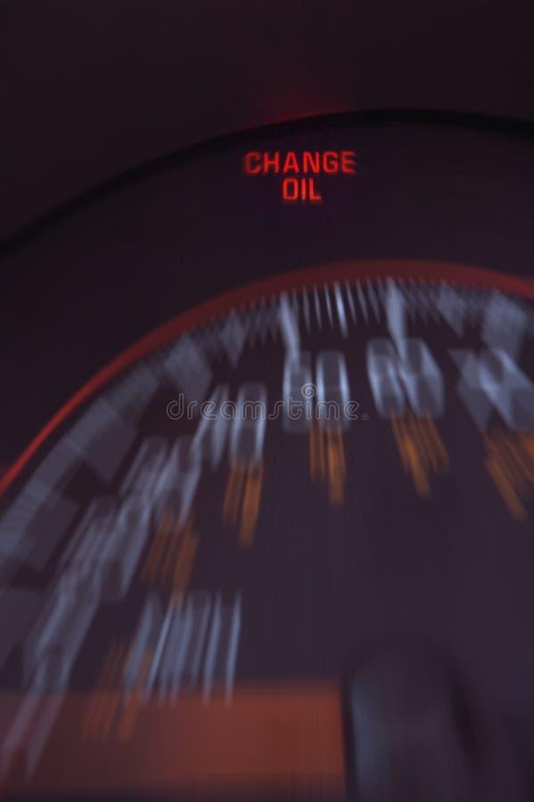 Cambiamento di olio immagini stock