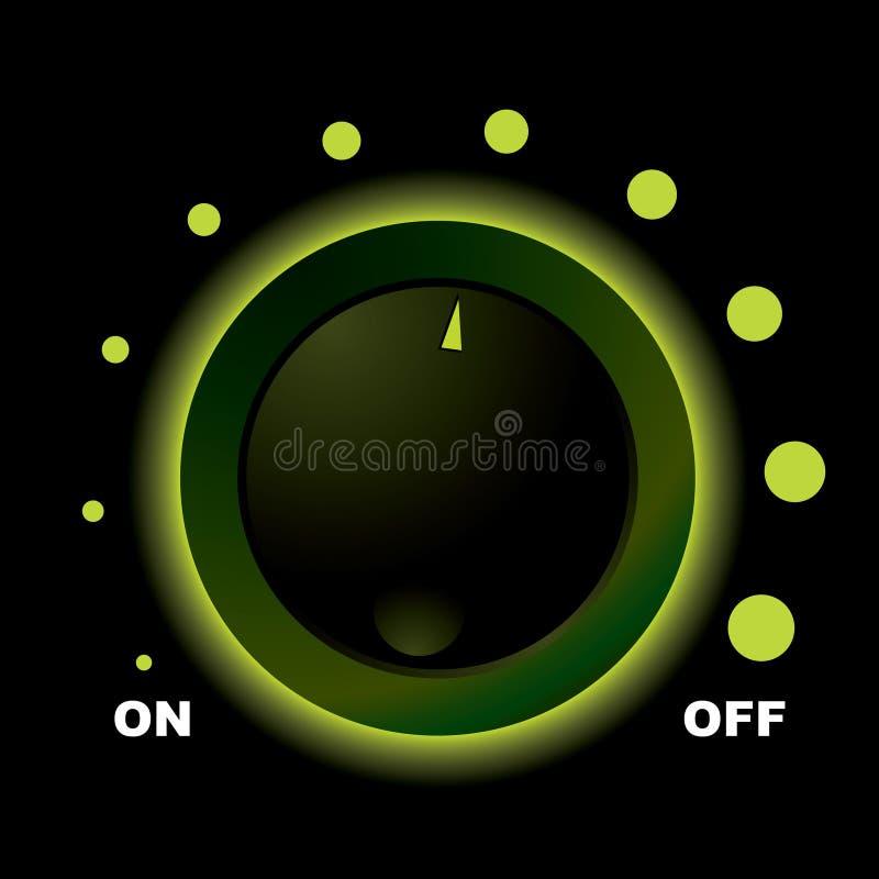 Cambie el dial stock de ilustración