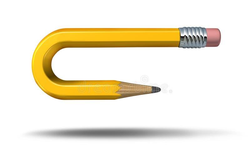 Cambio creativo stock de ilustración