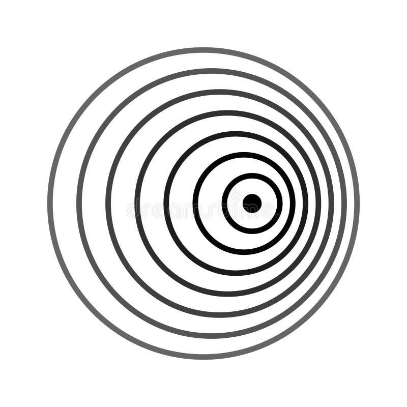 Cambio de Doppler del efecto de Doppler libre illustration