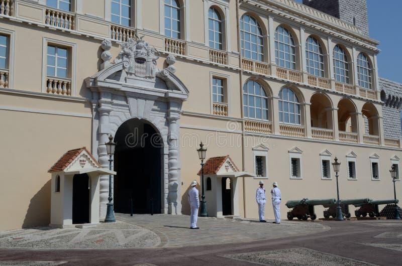 Cambio del guardia, el palacio, Mónaco, Tom Wurl fotografía de archivo