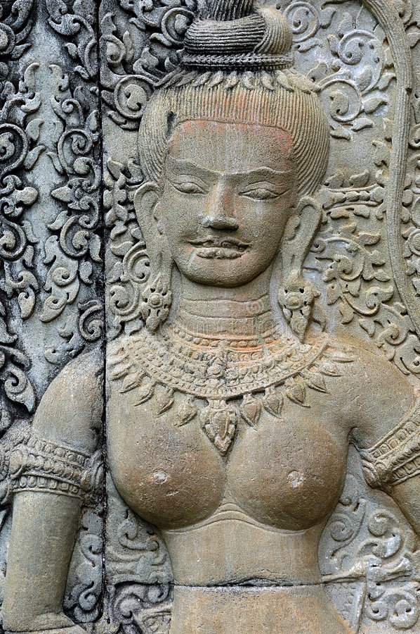 Free Cambodia Angkor Wat: Bas Reliefs Royalty Free Stock Image - 5294786