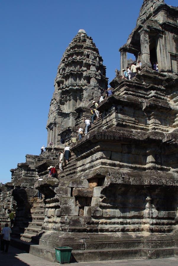Cambodia - Angor Wat royalty free stock photo