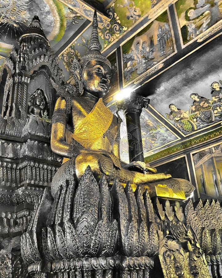 Wat Phanom Cambodia stock images
