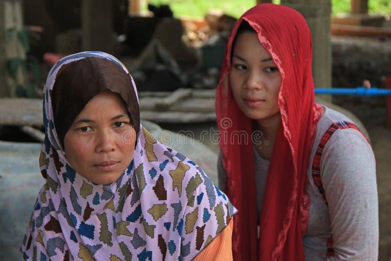 cambodia damy muslim zdjęcie royalty free