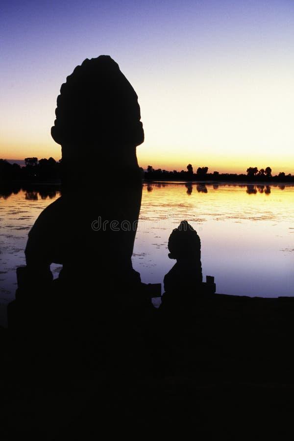 cambodia fördärvar royaltyfri fotografi