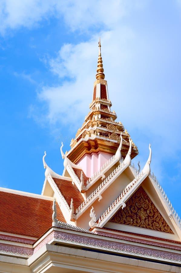 cambodia hus arkivbilder