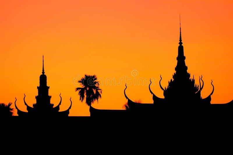 cambodia penhphnom arkivbild