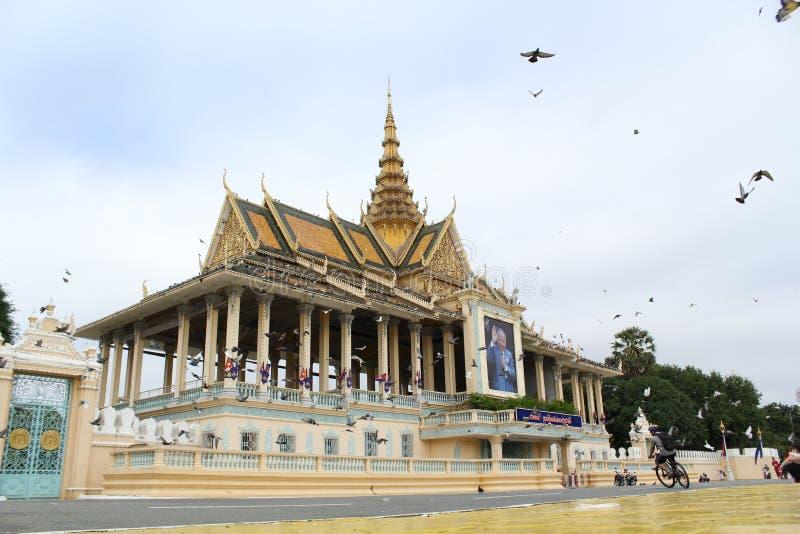Cambodia Royal Palace royalty free stock photo