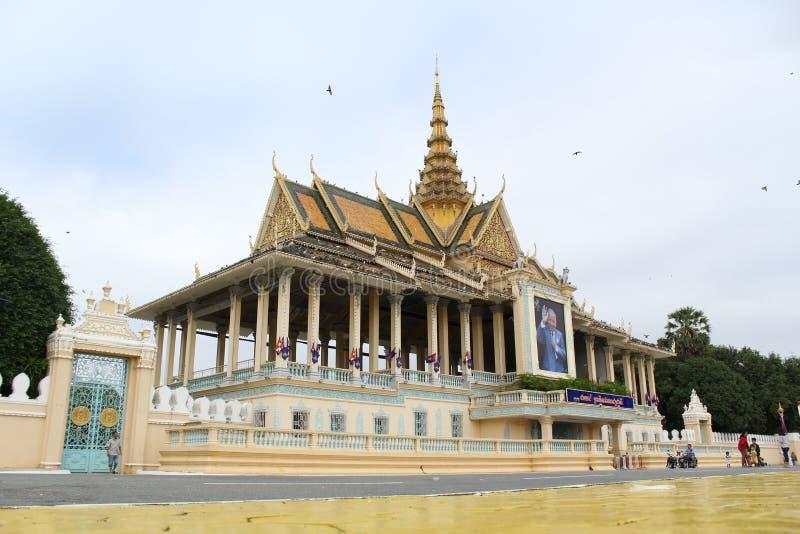 Cambodia Royal Palace royalty free stock images
