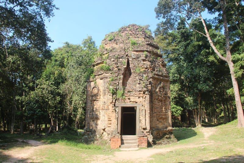 cambodia Sambor Prei Kuk Kampong Thom Province Kampong Thom City fotografie stock