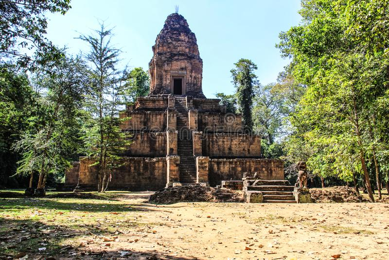 Cambodia Siem Reap Baksei Chamkrong royalty free stock images