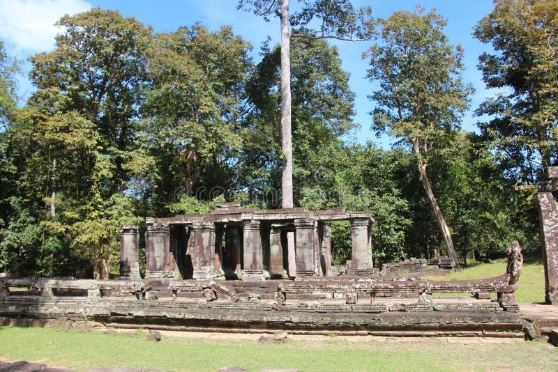 cambodia Temple de Banteay Kdei Province de Siem Reap Ville de Siem Reap photographie stock libre de droits