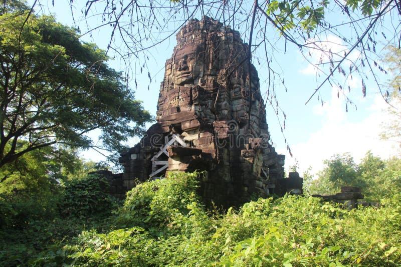 cambodia Temple de Ta Prohm Province de Banteay Meanchey Sisophon Sity photos libres de droits