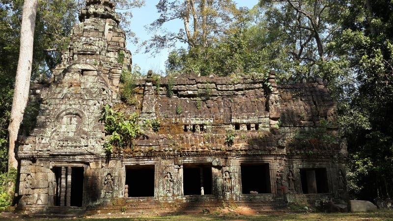 cambodia Temple de Ta Prohm Province de Siem Reap Ville de Siem Reap photos stock